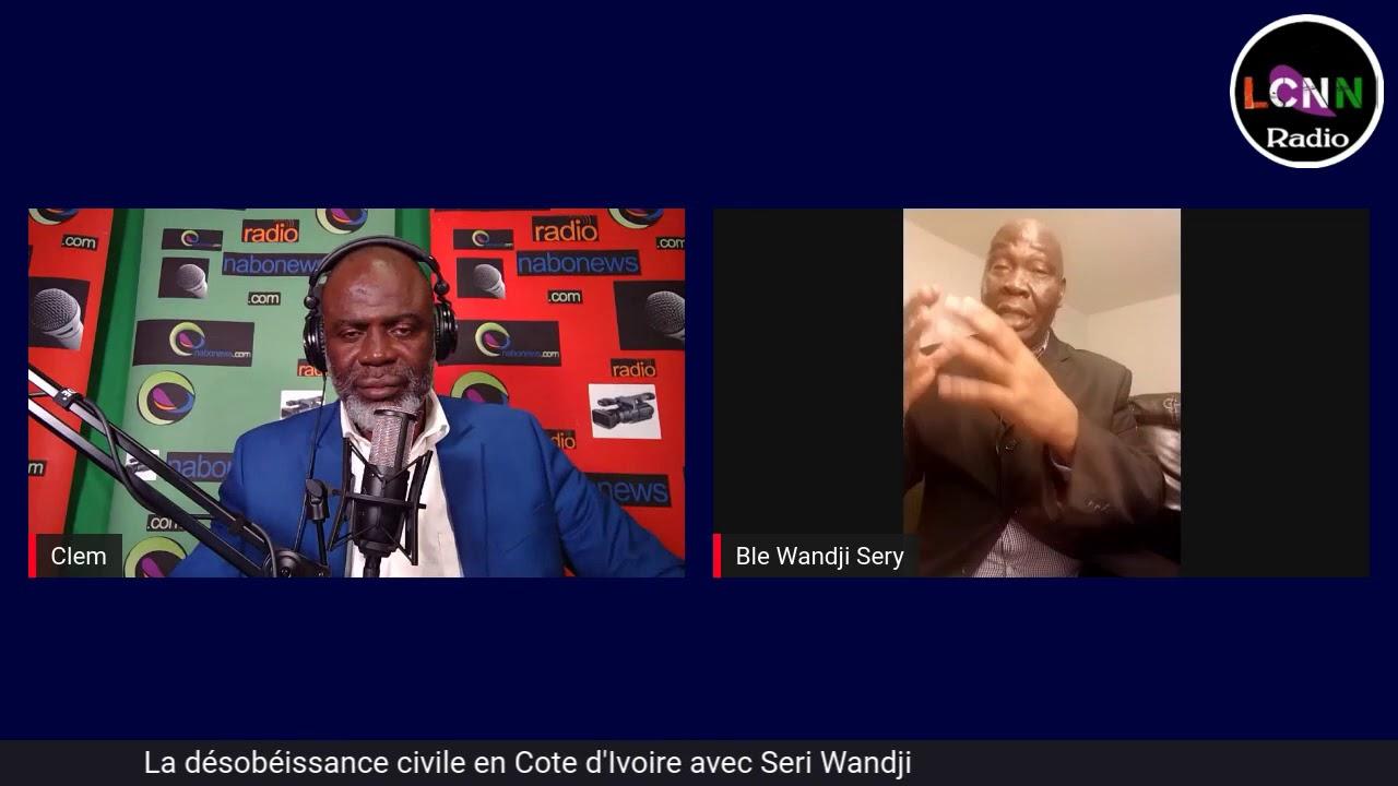 Désobéissance civile en Côte d'Ivoire, le point de vue de Blé Seri
