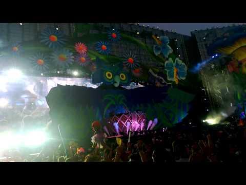 EDC Las Vegas 2013 Dash Berlin- Sandstorm Live