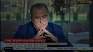 Fatih Terim, Milli Takım kadrosunu açıkladı! | Spor Tv