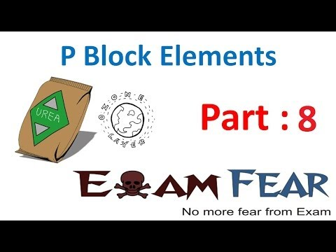 Chemistry P Block part 8 (Oxidation states of group 15 elements) CBSE class 12 XII