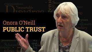 How should scientists engage with a distrustful public? | Prof Onora O'Neill (Q&A, 2017) thumbnail
