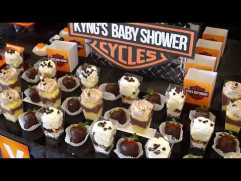 Harley Davidson Baby Shower   YouTube