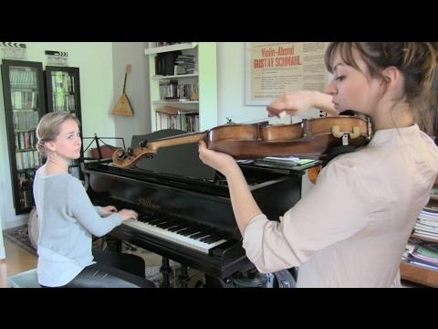 Violin Coaching Violin Lesson Nora Kudrjawizki