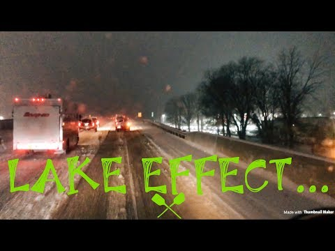 Trucking | get you some LAKE EFFECT snow!
