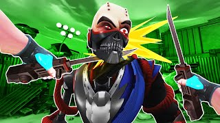 I Knife These Crazy Ninja Cyborgs and Get Zapped by Lasers in Path of the Warrior VR!