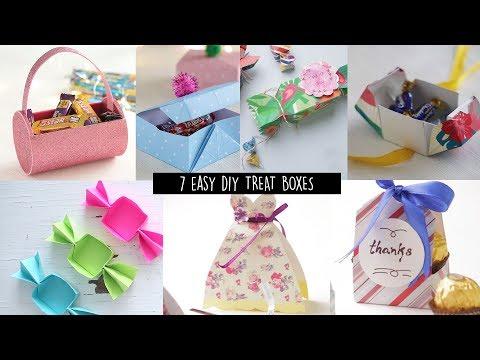 7 Easy DIY Treat Boxes