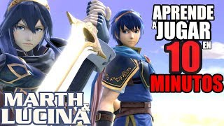 COMO USAR A MARTH & LUCINA EN SMASH BROS ULTIMATE