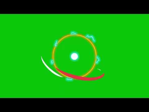 Искры -- -- Футаж на зеленом фоне для монтажа видео на Youtube