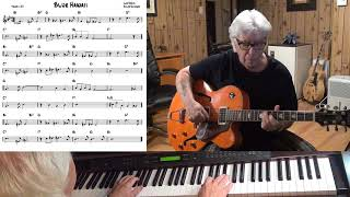 Blue Hawaii - Jazz guitar & piano cover ( Leo Robin & Ralph Rainger )