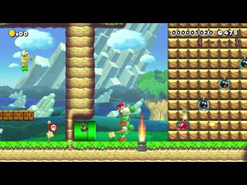 yoshi - the green dragon by Daan 一SUPER MARIO MAKER一 No Commentary