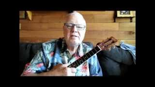 """PLAY IT MELLOW"" . . .A tutorial to build JAZZ chording skills by Ukulele Mike"