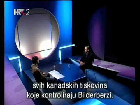 Daniel Estulin on Croatian TV: 2/5