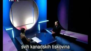 Daniel Estulin on Croatian TV: 2/5 'The Bilderberg Group'
