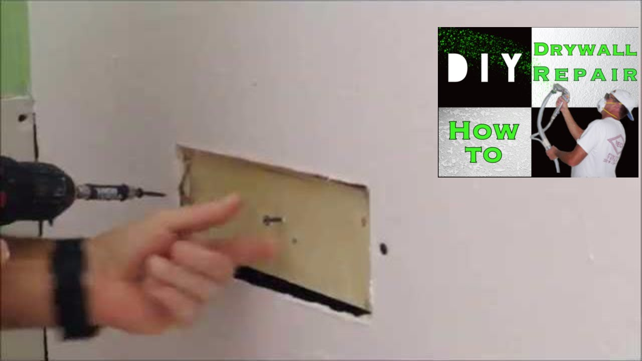 How To Add A Wood Furring Strip Attach Drywall For Repair