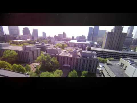 Bird's Eye View of Rutgers University - Newark