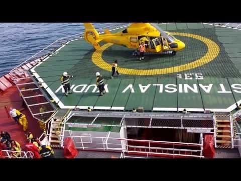 HLV Stanislav Yudin (Offshore crew Change)