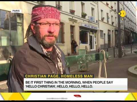 French homeless man becomes Twitter sensation with his account of street-life