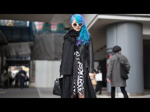 Get Your Fashion Inspiration From Tokyo Street Style
