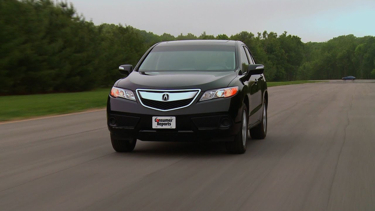2013-2014 acura rdx review | consumer reports - youtube