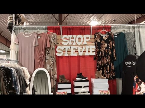 Shop Stevie - My first Booth!