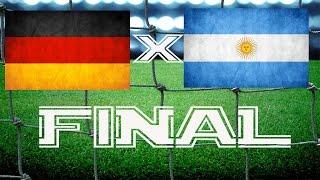 ALEMANHA X ARGENTINA - FINAL / THE FINAL 13/07/2014