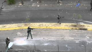 Asi Reprime a Manifestantes la GNB Tachira Pueblo Nuevo