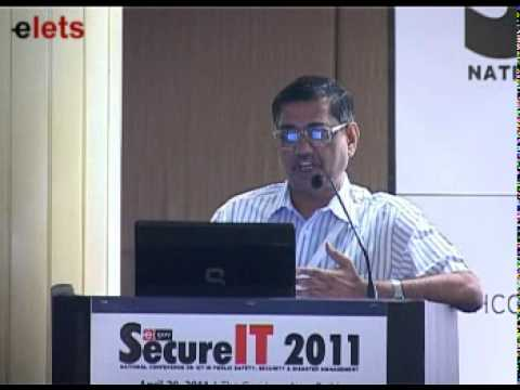 Dr Ramachandran,Centre Director, National Technical Research Organisation, Government of India
