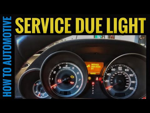 How to Reset the Oil Change/Service B1 Due Light on a 2010 Acura MDX