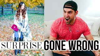 Surprising Husband GONE WRONG + Dream Backyard Tour!