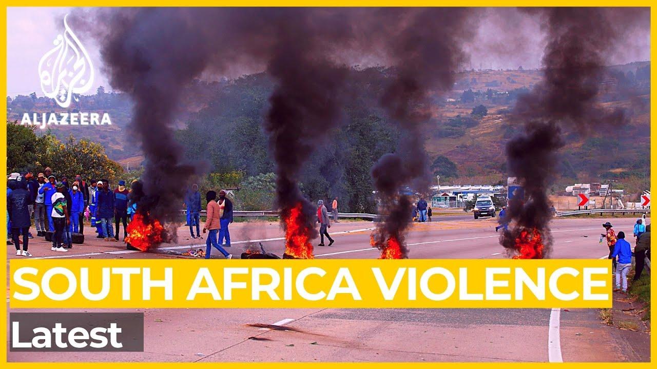 South Africa Violence : Latest Update - Al Jazeera English