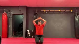 Онлайн спорт - Тренировка глубоких мышц спины и брюшного пресса.