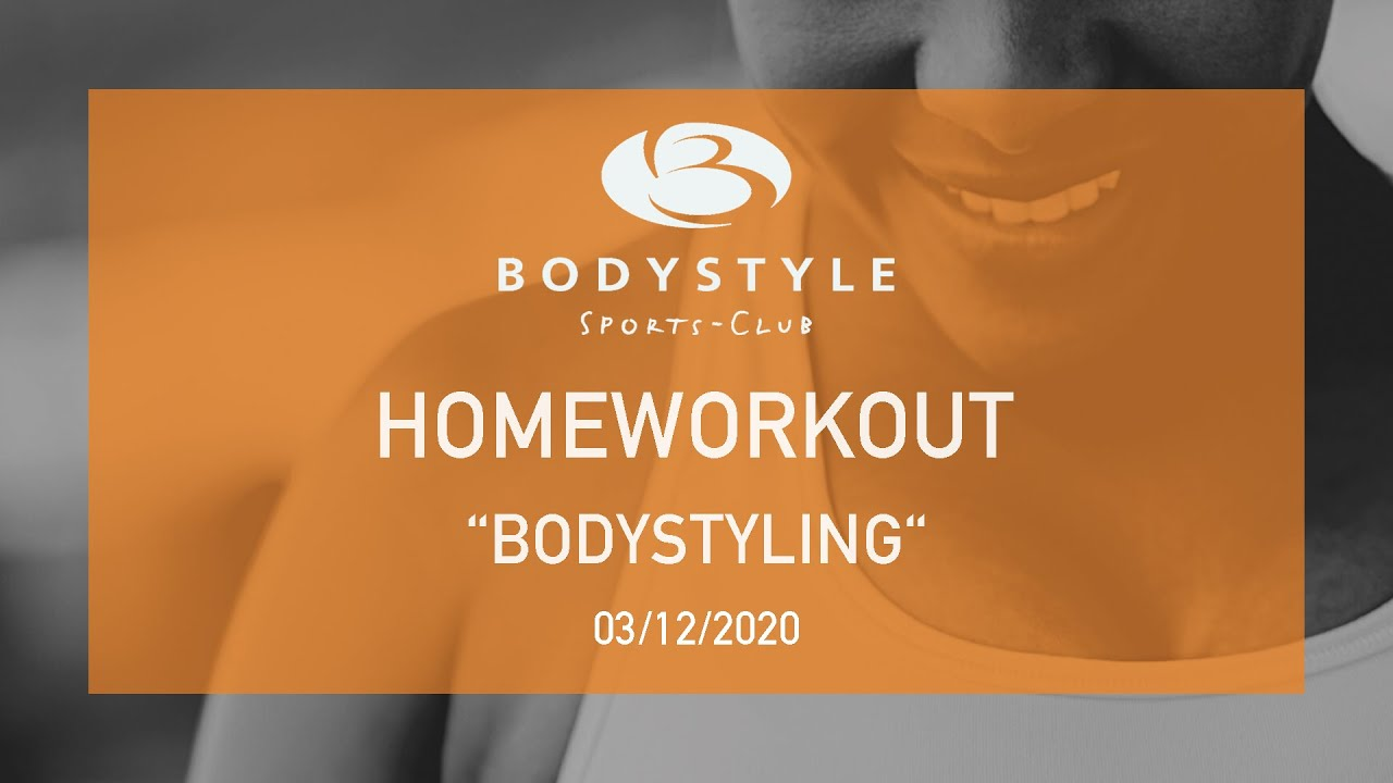 Bodystyling Homeworkout mit Iris