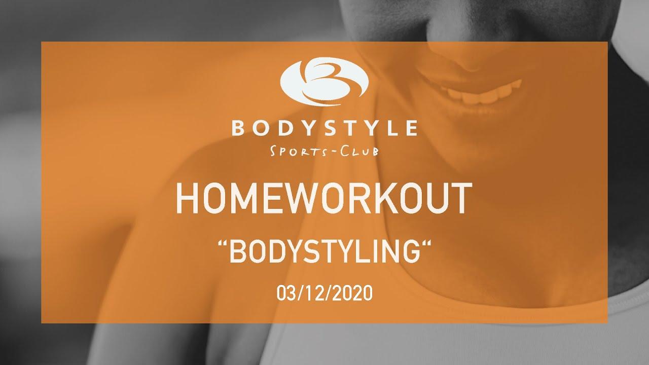 Bodystyling Homeworkout mit Iris