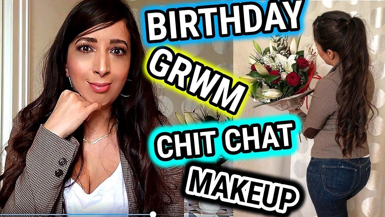 Afghan Chit Chat Site grwm & chit chat makeup pôtins, raz le bol, mon dîner d'anniv et