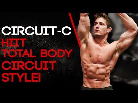 CIRCUIT-C: HIIT Total Body - Circuit Style! #SHREDCHALLENGE