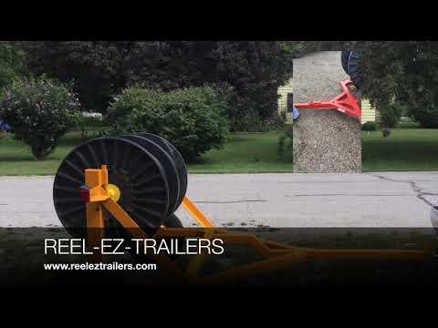 EZ35 Against Traditinal Reel Trailer