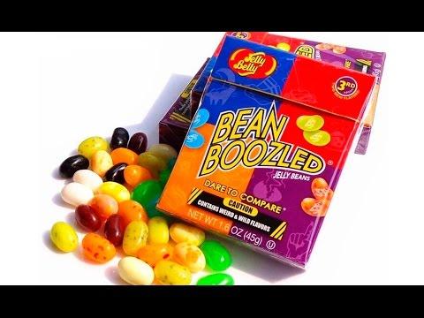 Обзор + тест конфет Bean Boozled