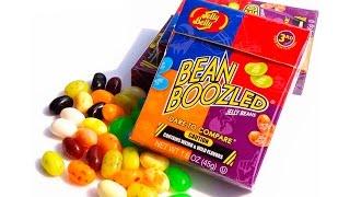 обзор  тест конфет Bean Boozled