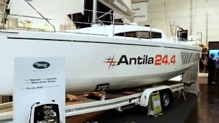 Antila 24.4 | Bootsmesse Düsseldorf 2017