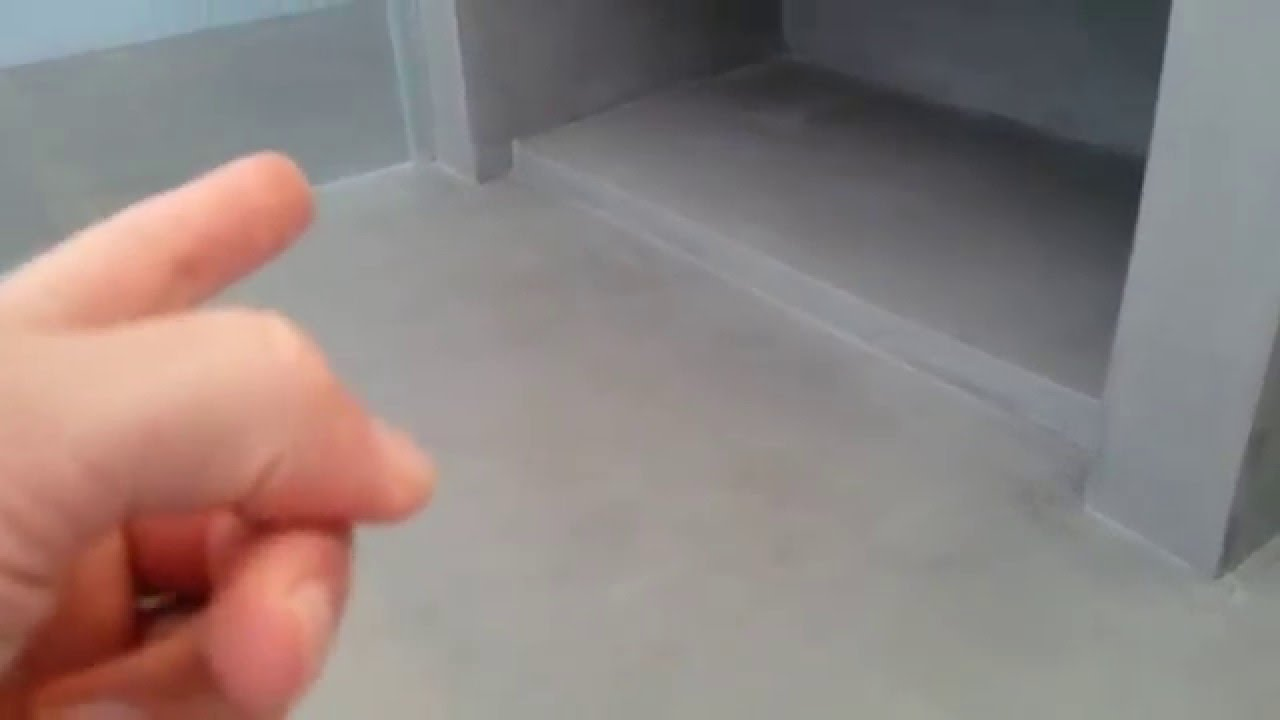 Beton gietvloer in huis youtube