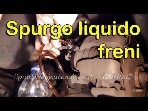 Cambio E Spurgo Liquido Freni Auto Youtube