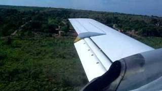 Pouso Embraer EMB-120 Brasilia em Araguaína - TO (SWGN) - Sete Linhas Aéreas
