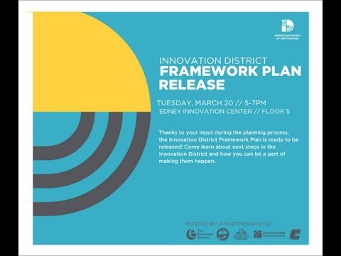 Innovation District Famework Plan 2018 March 20th