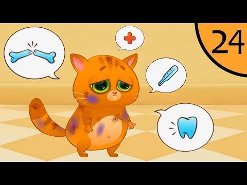 Картинки кот болеет