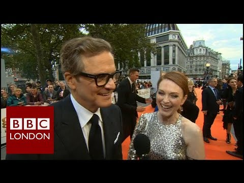 Colin Firth & Julianne Moore 'Kingsman: The Golden Circle' – BBC London News