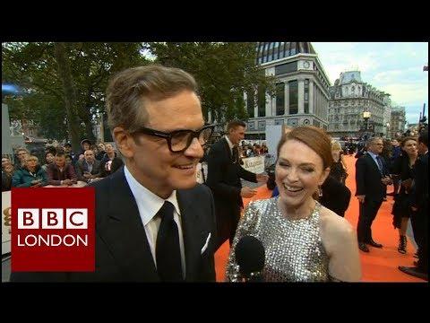 Colin Firth & Julianne Moore 'Kingsman: The Golden Circle' – BBC London News