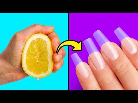 26 EFFECTIVE NAIL HACKS FOR YOUR NEXT MANICURE