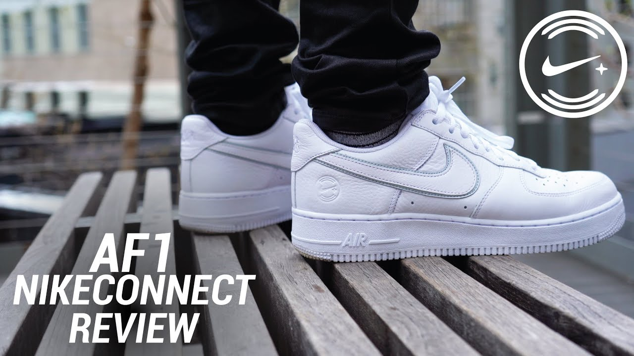 super popular f2b86 dfa67 NIKE AIR FORCE 1 NIKECONNECT NYC REVIEW