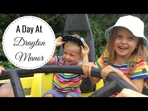 Visiting Drayton Manor Theme Park & Thomasland in Staffordshire