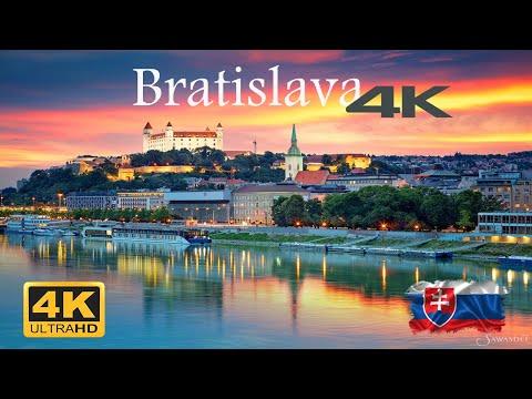 Bratislava Slovakia 🇸🇰 in 4K Ultra HD BEST drone quality